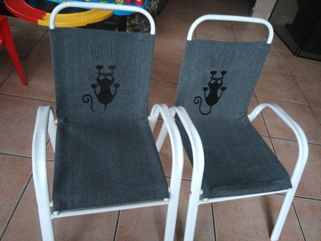 Instant Couture: Remise en état de chaises enfant, de récup'