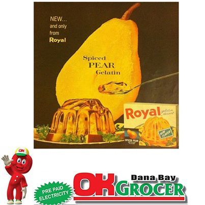 #Vintage ad for Royal gelatin back in the early 1950's. #throwbackthursday