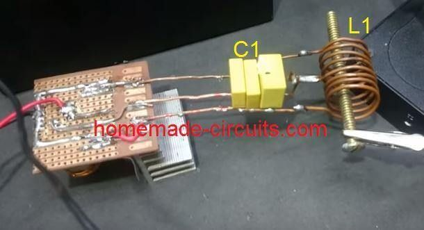 Induction Heater Schematic Diagram Likewise Induction Heater Circuit