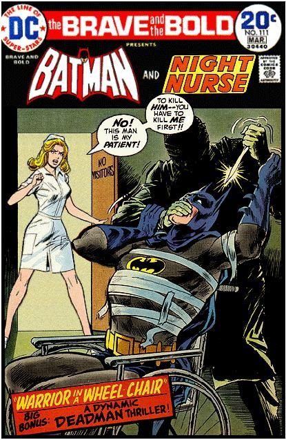 Super-Team Family: The Lost Issues!: Batman and Night Nurse