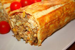 Ruokasurffausta: Gluteeniton munakasrulla pulled porkista ja fetasta