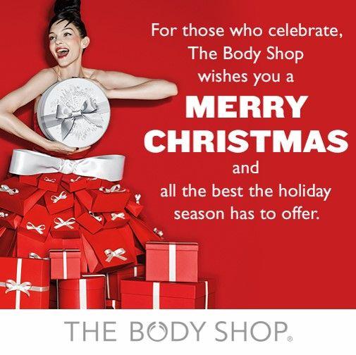 The Body Shop Malaysia Christmas 2014