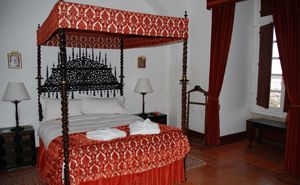 Our room at Pousada da Rainha Santa Isabel