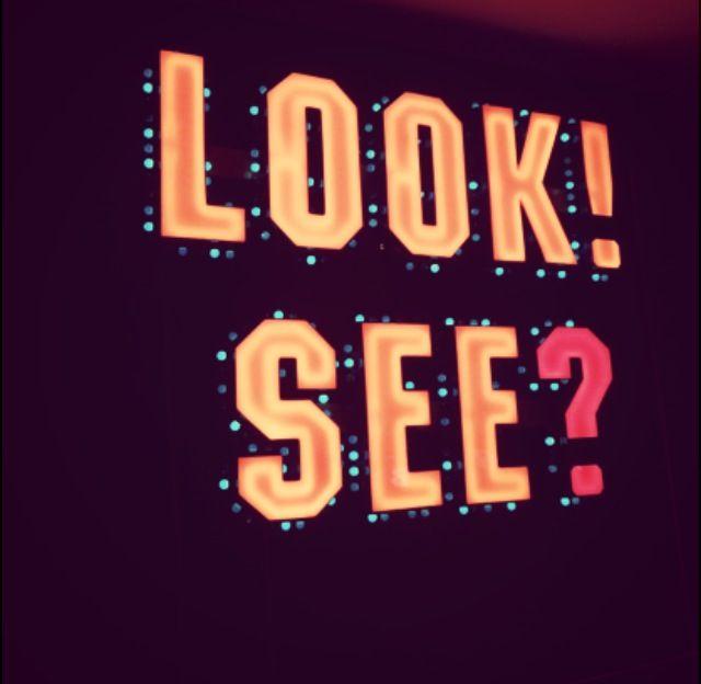 look! see?