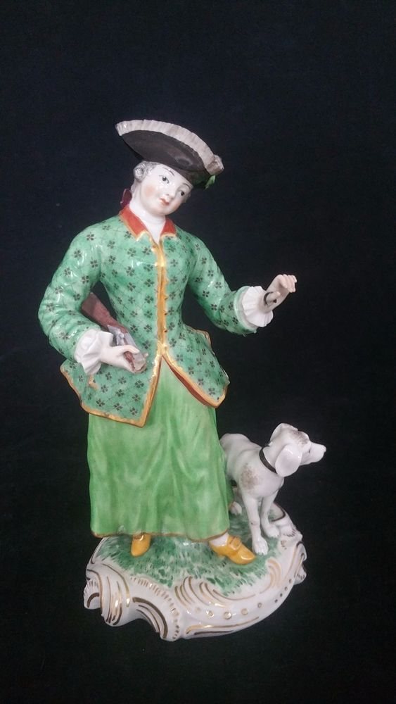 Nymphenburg Porzellan Figur Frankenthal Modell Figure Porcelain Figurine