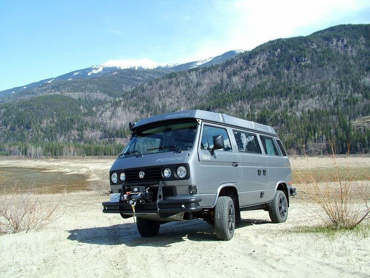 Sweet Vanagon! Syncro, Audi TDi, camper, Westy... Oh yeah and a winch.