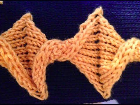 twist knot detail - knit tutorial - YouTube