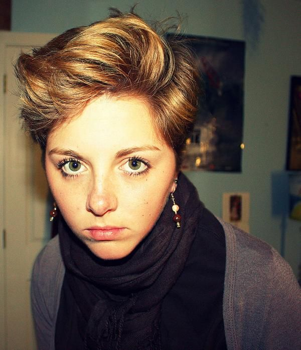 women with pixie cuts - Bing Images