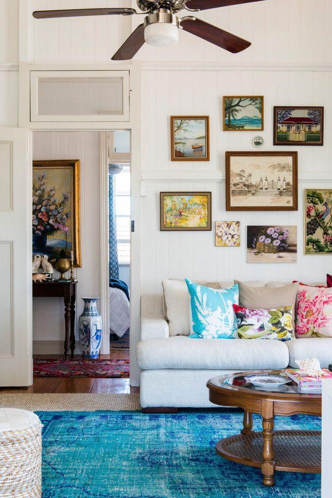 Newlywed Queenslander Fixer Upper In Australia Home Tour Minimalist Living Room Decor Living Room Color Schemes Living Room Color