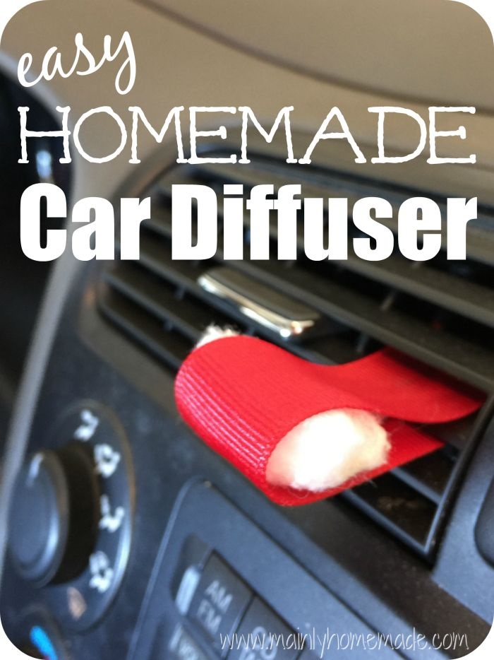 Homemade Car Diffuser For Essential Oils Combat That