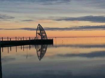 Seezeichen Juister Hafen - http://reisebaer.de/kurzurlaub-auf-der-insel-juist-teil-1/