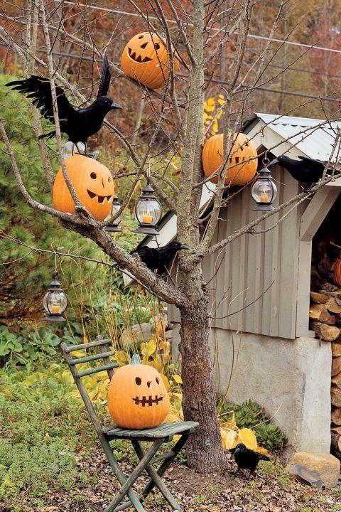 Manca poco più di un mese, ma per chi festeggia Halloween è tempo di iniziare a pensare ai preparativi e alle decorazioni per la festa più paurosa dell'anno. Iniziamo dalle decorazioni per il giardino, uno spazio che si presta molto bene per questo genere di addobbi. Siete pronti?
