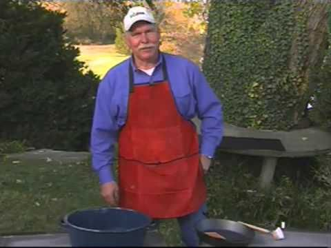 Lodge Cast Iron Cooking with Johnny Nix - YouTube ... He talks about lots of products and gives a tutorial on cooking with charcoal on the cooking table.
