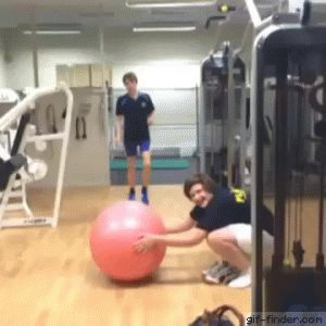 Exercise Ball Prank | Gif Finder – Find and Share funny animated gifs