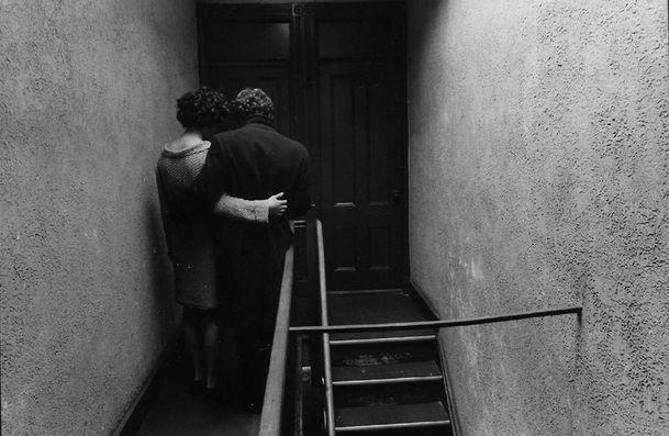 Duane Michals - Sad Farewell, 1968