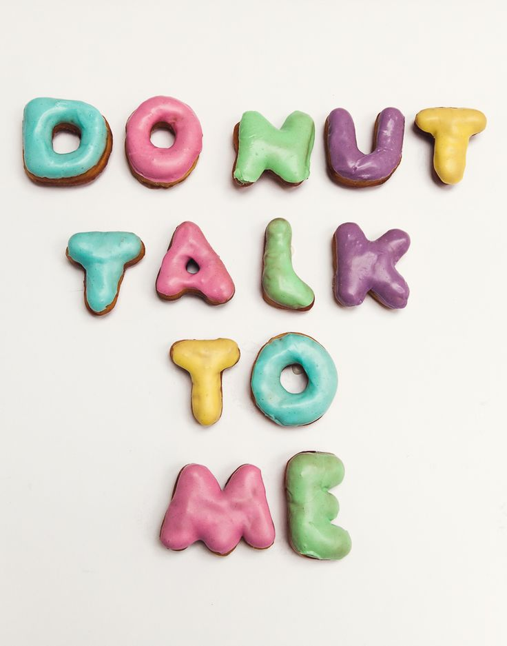 Donut Talk To Me - Vicky's Donuts