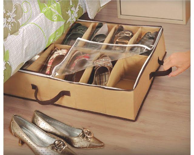 Tu Organizas.: Embaixo da cama tem...