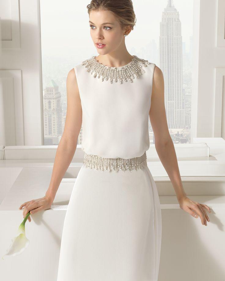 8 81109 SAHARA - Vestido de Noiva - Rosa Clará
