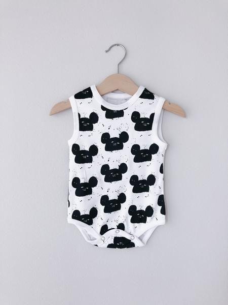 17e2dec1d Organic Tank Bodysuit ☆ SIGNATURE PRINTS | Kids Fashion | Tank ...