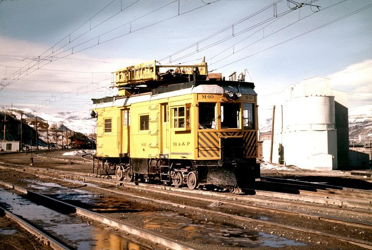 old overhead wire machines