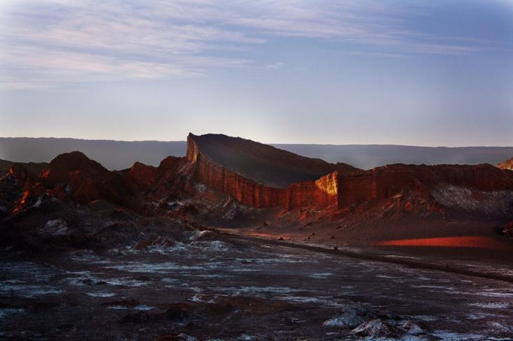 Valle de la Luna, near San Pedro de Atacama!