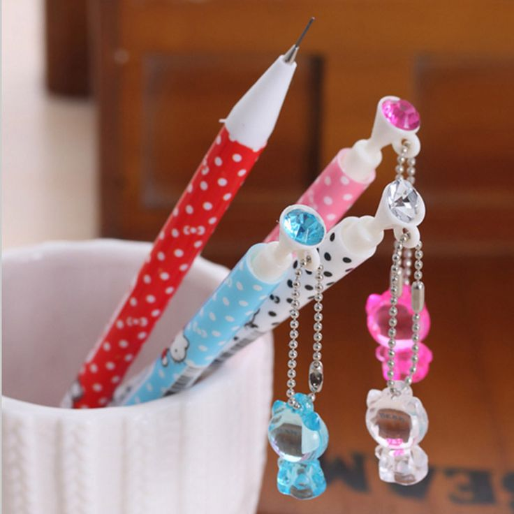Cute Kawaii Plastic Mechanical Pencil Lovely Hello Kitty Automatic Pencils For Kids School Supplies Free Shipping 583 #>=#>=#>=#>=#> Click on the pin to check out discount price, color, size, shipping, etc. Save and like it!