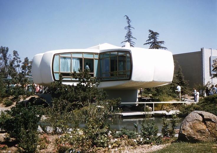 1958 monsanto future house at disneyland