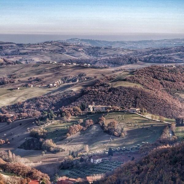 Panorama visto da Arcevia