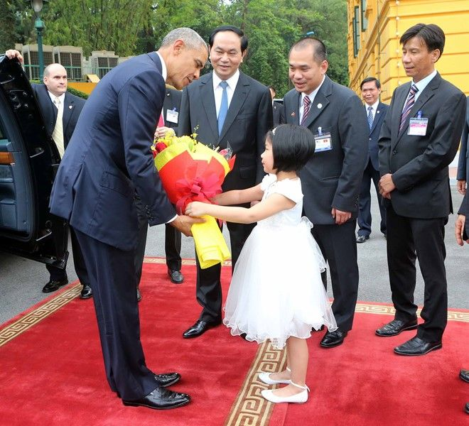 The first day of US President Barack Obama in Vietnam, Government news, politic news, vietnamnet bridge, english news, Vietnam news, news Vietnam, vietnamnet news, Vietnam net news, Vietnam latest news, vn news, Vietnam breaking news