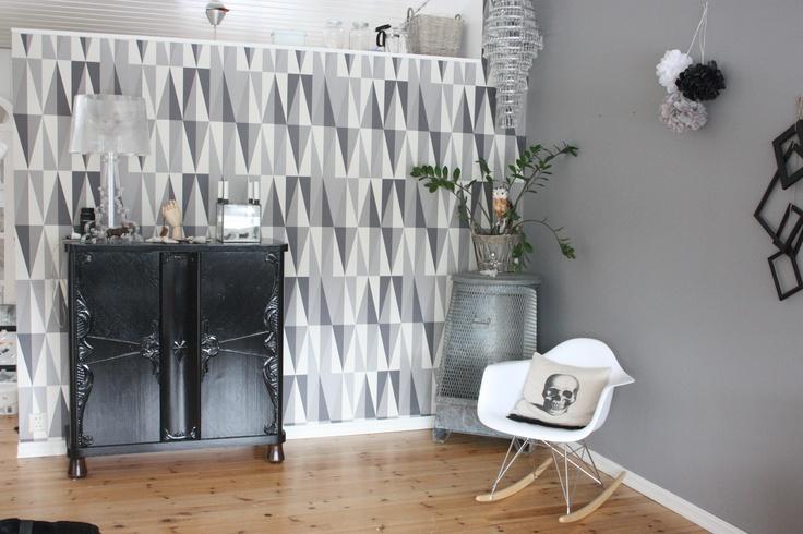 New wallpaper; ferm living