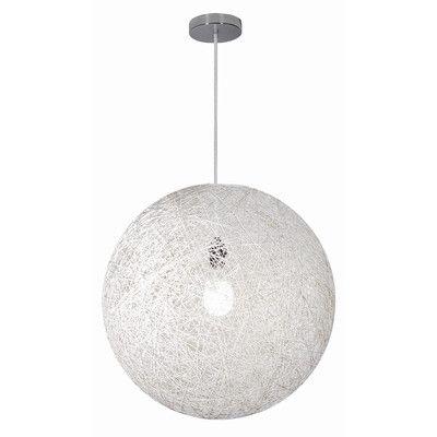 Bazz Vibe 1 Light Globe Pendant $151