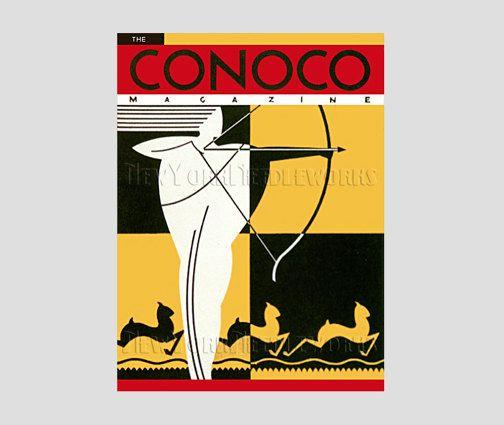 Art Deco Pattern Vintage Magazine Pattern by NewYorkNeedleworks, $8.50