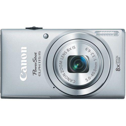 Canon PowerShot ELPH 115 16MP Digital Camera (Silver) Canon http://smile.amazon.com/dp/B00B5HE3AK/ref=cm_sw_r_pi_dp_Xxhdub00J047A