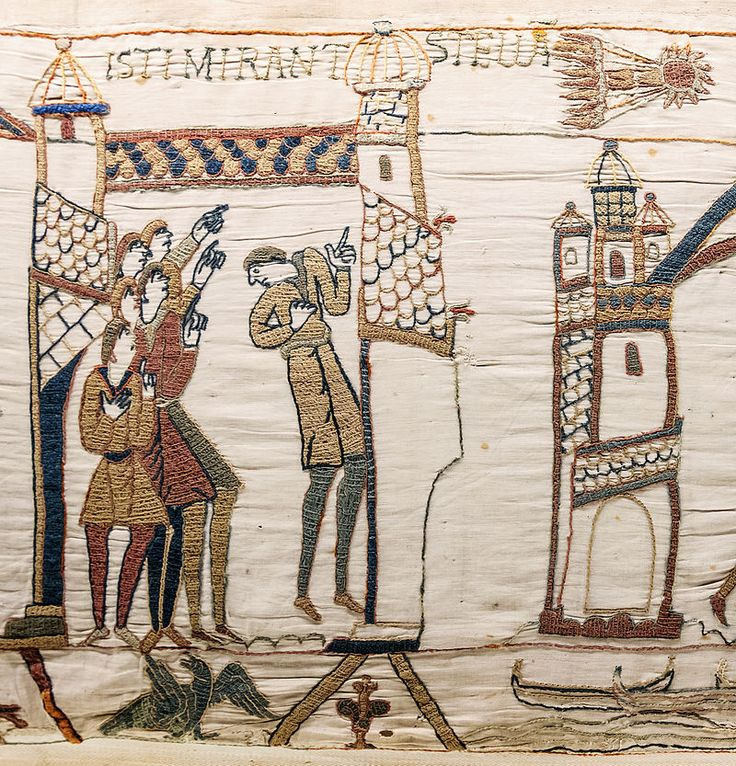 Bayeux Tapestry scene32 Halley comet.jpg