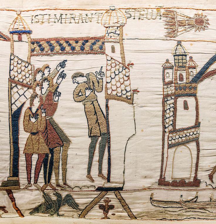 Bayeux Tapestry scene32 Halley comet.jpg