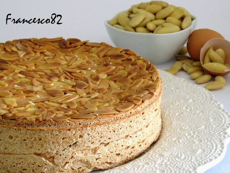La cucina degli Angeli: Torta di mandorle senza farina di Luca Montersino