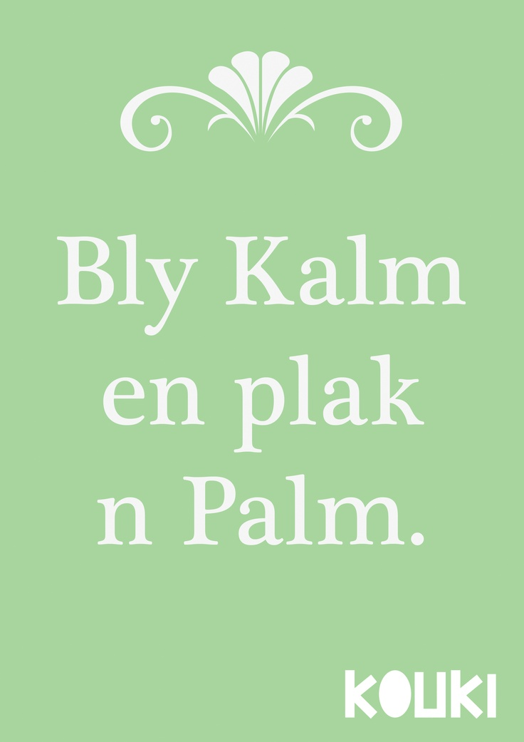 bly kalm...by KOUKI Graphic Design