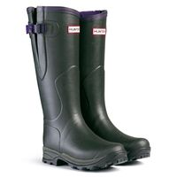 Hunter Balmoral Lady Neoprene Wellington Boots - Olive