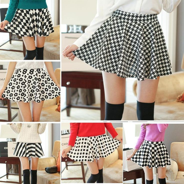 7 стилей 2014 нового прибытия женщин короткие юбки черные и белые квадраты печати бальное платье высокая талия тонкая cp-k519 мини-юбки 287,10