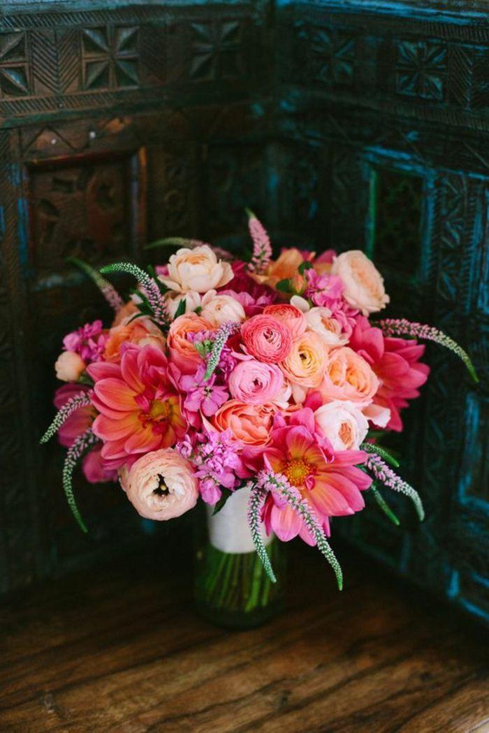 ▷ 1001 + compositions de bouquet champêtre pour mariage
