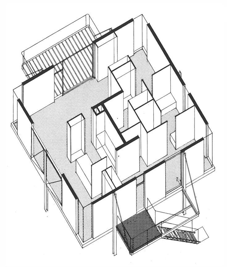 © paul chemetov + andré bonardi - sterckeman house - attiches, lille, france - 1964