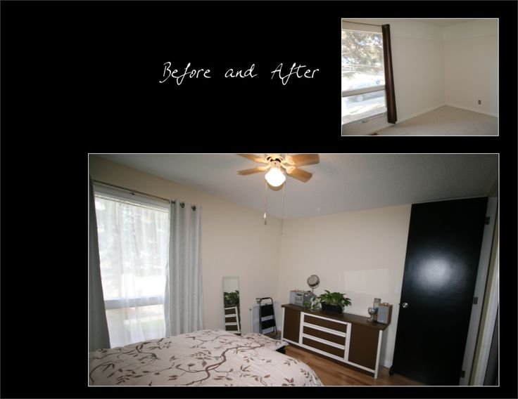 Master Bedroom - Before & After