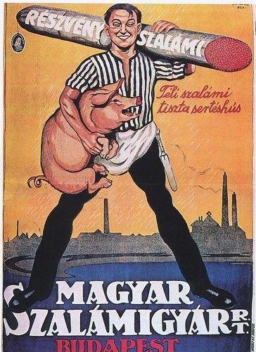 Le bon saucisson hongrois