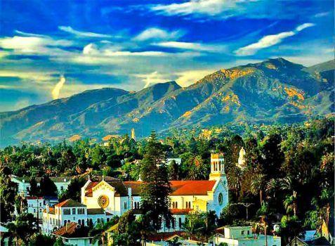 Santa-Barbara California (63 pieces)