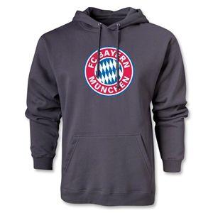 Bayern Munich Logo Hoody (Dark Gray)