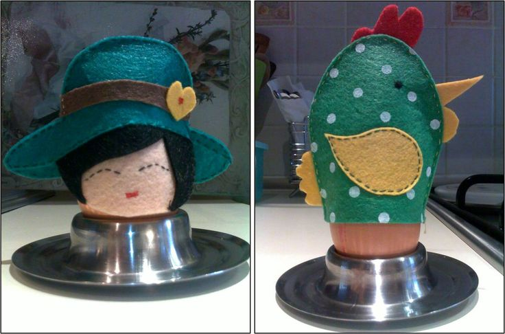 Egg hats
