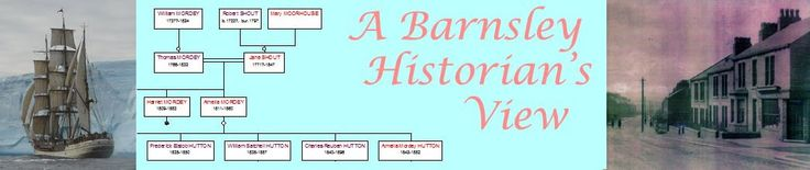 A shortcut to my blog A Barnsley Historian's View, local and family history and a bit about how I manage to keep my head above the water.
