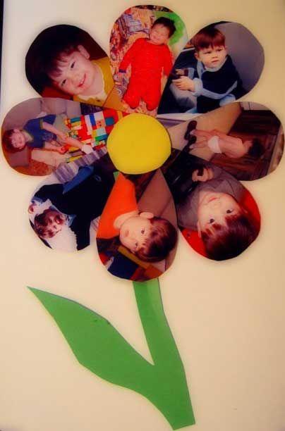 grand-mere, fleurs, photo, personnalisé, DIY, enfants, home made