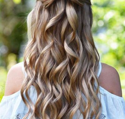 Simple Prom Hairstyles 2018