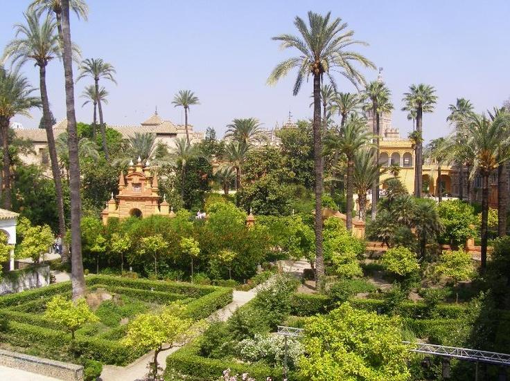Sevilla España -Alcazar-